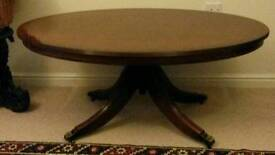 Solid mahogany occasional /coffee table for sale