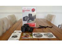 Canon EOS 1200D Camera EF-S 18-55mm f/3.5-5.6 lens, Bag, Tripod