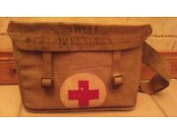 GENUINE WW2 RED CROSS SATCHEL, SEE ALL PICS AS MANY MORE GREAT ITEMS