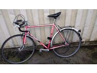 RACER VINTAGE RACER VISCOUNT RACING BIKE 15 SPEED 700 CC WHEELS AVAILABLE FOR SALE