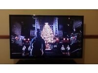 "Samsung 51"" 3D plasma tv and stand."