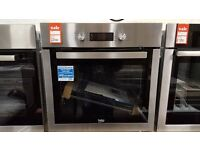 Brand new Beko BIM16300XC Single Multifunction Electric Oven, Stainless Steel