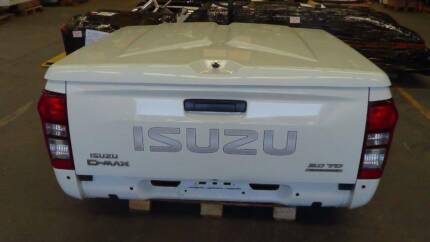 Isuzu DMAX Dual Cab 2017 Tub Hard Lid Type