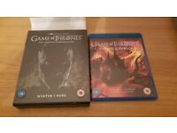 Game of Thrones Season 7 Blu-Ray excellent condition, including conquest and rebellion Blu-ray