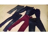 Mostly Next girls jeans/trousers age 4
