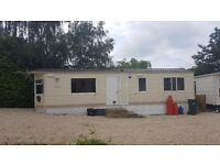 Static caravan for sale on site