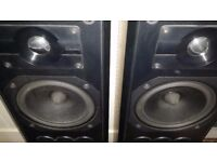 Mission 752 Floor Standing Loudspeakers - Black finish