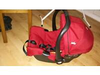 Red Joie car seat