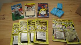 Selection of 12 different pranks and joke items - ALL NEW AND UNUSED/SEALED