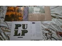 8 VINYL LPS FOR £60 OR £8.50 EACH OR ANY 2 LPS FOR 15.50; ROCK; BLUES; FOLK; METAL; PROG