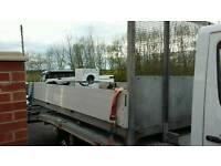 Mercedes sprinter NEW SHAPE alumilium dropside body 15ft, fully compleate with brackets attached