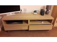 IKEA Bestå media unit / TV bench with drawers