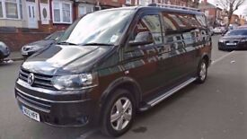 Vw transporter LWB 9 seater with large boot space