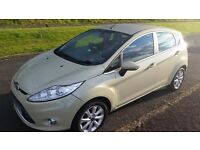 2009 09 reg Ford Fiesta Hatchback, Petrol, 37,600 mil New Shape