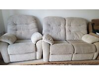 G Plan 2 seater and 1 sofa chair