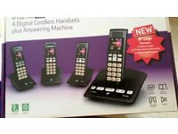 BT Edge 1500 (4pack) Digital Cordless Handsets
