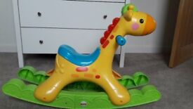 FISHER-PRICE ROCKING TUNES GIRAFFE