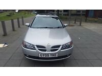 Nissan Almera 2005. SE manual. 1.5 Petrol. MOT April 2017