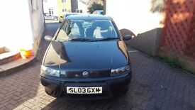 2003 Fiat Punto years MOT