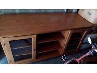 Pine Large TV Unit and Coffee Table