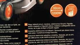 Flymo Visimo Lawnmower 1200W