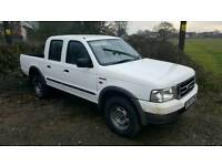 Ford ranger 2.5 Diesel double cab 4x4 / export