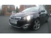 **NEARLY NEW** 1500 MILES** PURETECH PEUGEOT 308** IMMACULATE CONDITION**