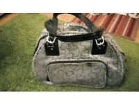 Ladies antler overnight travel cabin bag