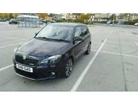 2012 Skoda Fabia VRS 1.4 tsi 5 door Black DSG turbo LOW MILEAGE (like polo gti ibiza cupra fr)
