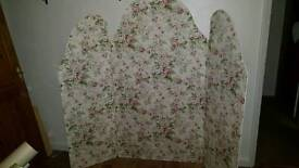 Vintage Shabby chic Privacy Screen