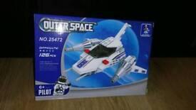 Space ship building blocks