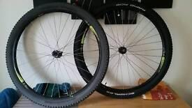 29er wheel set xt alexrims rapid rob