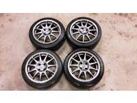 "Renault clio 172 182 sport speedline turini 16"" alloy wheels"