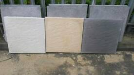 Paving slabs 600x600mm Straight Edge (riven & smooth)