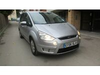 2006 FORD S-MAX 7 SEATER TURBO DIESEL 6 SPEED NEW CAMBELT AND SERVICED
