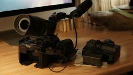 Sony FS100 - Super 35mm Sensor Camcorder