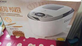 Brand New Sealed In Box Bread Maker Baker Breadmaker Baking Kitchen