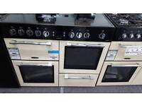 New graded Leisure 100cm electric range cooker with 12 months guarantee