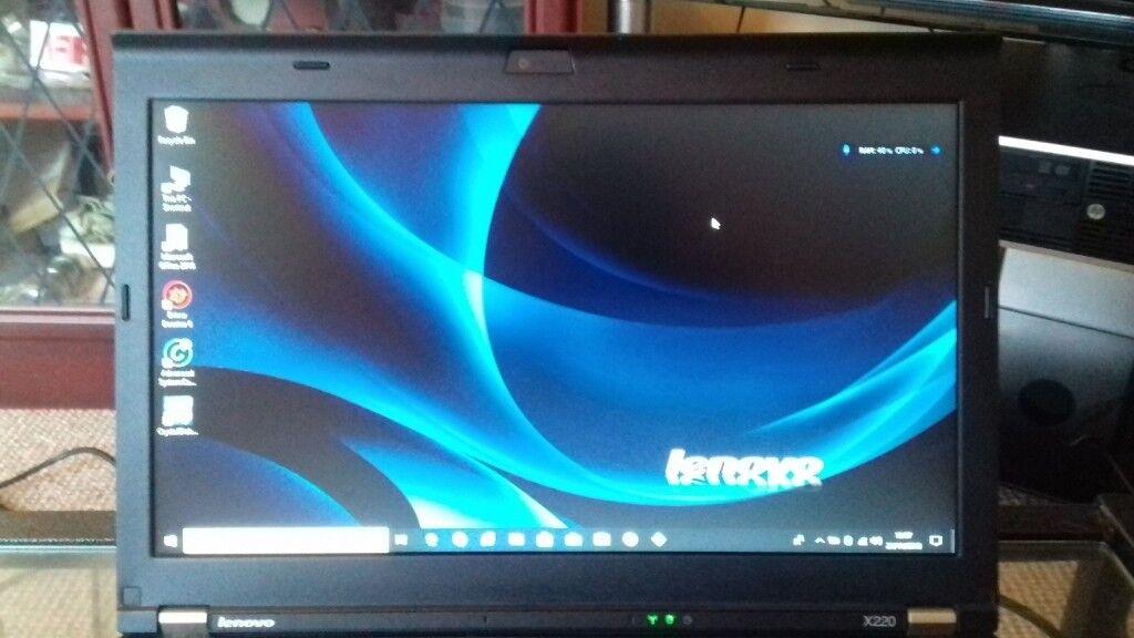 Lenovo ThinkPad X220 laptop, Very Fast i5, 4GB Ram, 120GB SSD   in  Stoke-on-Trent, Staffordshire   Gumtree