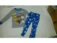 Paw patrol pyjamas aged 2-3