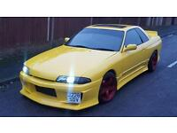 NISSAN SKYLINE R32 GTST 1991, DRIFT, RWD, RARE, PART EXCHANGE TO CLEAR