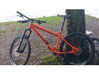 Orange crush am 2016 mountain bike