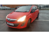 vauxhall corsa 1.2 RED 2012 Limited edition