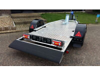 MOTORBIKE TRAILER / MOBILITY SCOOTER TRAILER / SINGLE AXLE TIPPING TRAILER