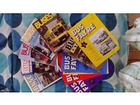 Bus books and magazines timetables etc