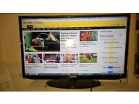 samsung 32 inch 1080p freeview led flat tv mint condition