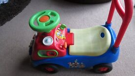 Disney Toddler Ride on Toy - Lights and Sounds