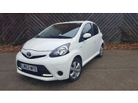 TOYOTA AYGO MOVE STYLE 2013 63 PLATE 1 OWNER FULLTOYOTA HISTORY WITH SATNAV NOT HONDA, vw or peogeot
