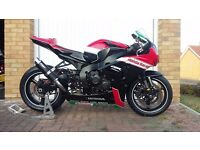 HONDA CBR1000RR FIREBLADE RACE TRACK BIKE WITH V5 AND MOT 2008