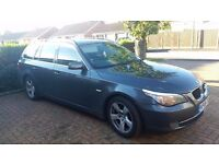 2008 BMW 5 SERIES 520D SE TOURING AUTOMATIC DIESEL FULL SERVICE HISTORY FULL MOT QUICK SALE
